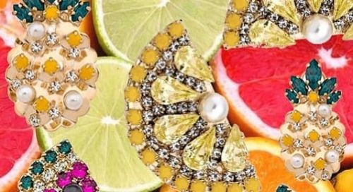23 Pairs of Fruity Earrings to Punch Up Your Summer Wardrobe