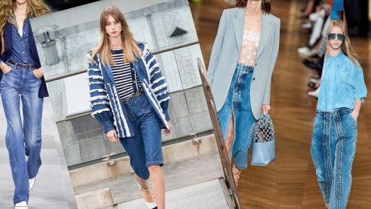 Start off 2020 with Pantone's 'Classic Blue' denims, as seen on the runways