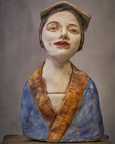Be in to win a one-of-a-kind ceramic sculpture by Nachiko Schollum, valued at $350