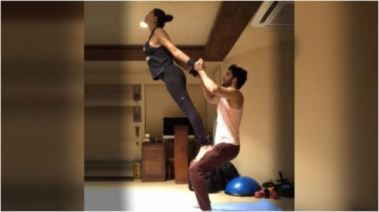Sushmita Sen's new workout video with Rohman Shawl is all about their stable relationship. Watch