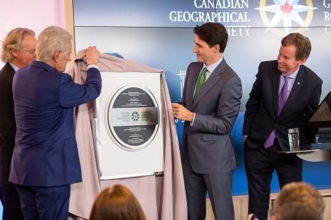 Six awesome things that happened at the official opening of Canada's Centre for Geography and Exploration