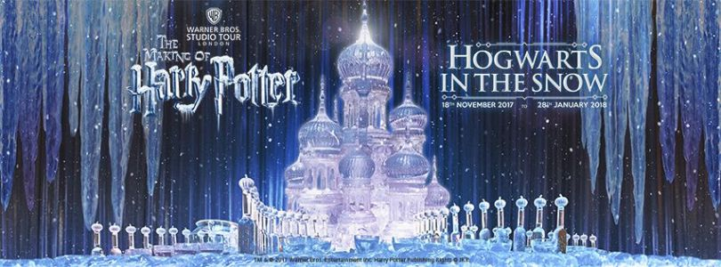 You can experience Hogwarts in the snow all throughout the festive season