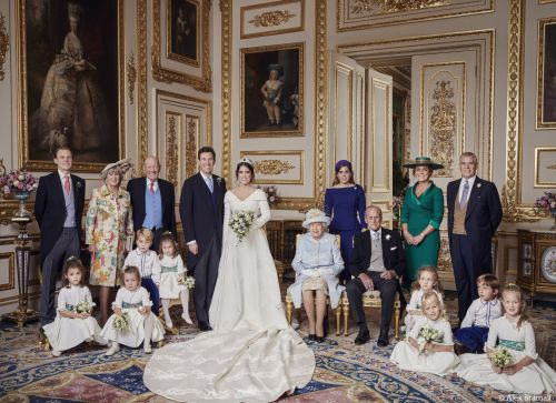 See Princess Eugenie's Second Wedding Dress - And Her Official Nuptial Portraits