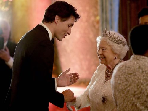 Find Someone Who Makes You Smile Like Justin Trudeau Makes The Royals Smile