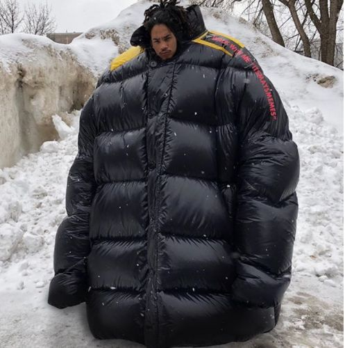 Instagram is filling up with celebs in gigantic bubble jackets and fugly trainers