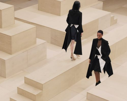 Riccardo Tisci Reworks British Classics in a 'Love Letter to Women' for Burberry Fall 2021