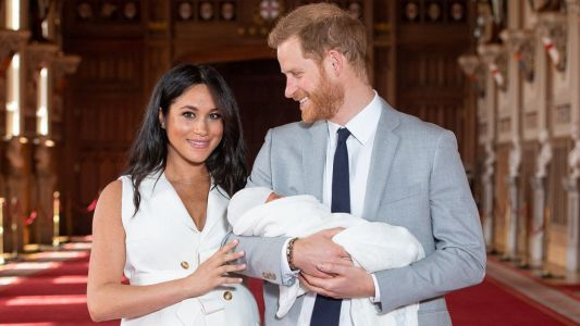 Meghan And Prince Harry Gave Us The Sweetest Photo Of Baby Archie For Father's Day