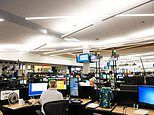 Inside American Airline's tornado-proof operations center at Dallas/Fort Worth International Airport