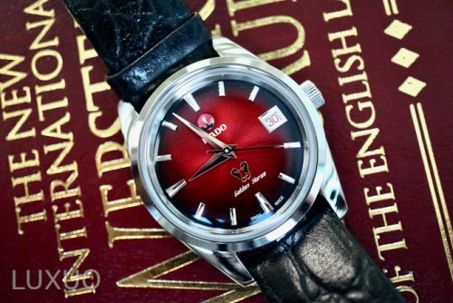 Rado Golden Horse 1957 limited edition is a look at Old Rado in a New Light