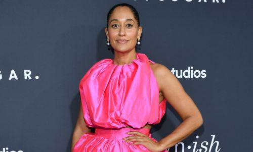 Great Outfits in Fashion History: Tracee Ellis Ross in Hot-Pink Christopher John Rogers