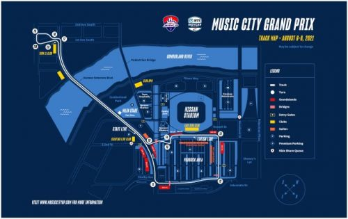 IndyCar Adds Music City GP in Nashville to 2021 Schedule