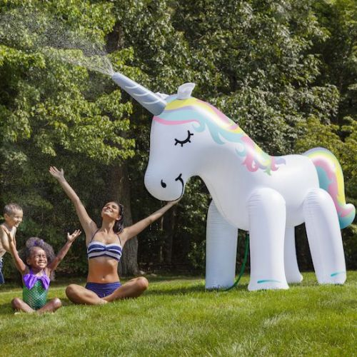 We're all going to need a giant unicorn sprinkler come summer*