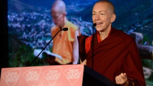 Ultimate luxury is to know you have enough: Buddhist monk Emma Slade