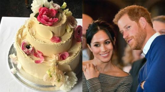 Prince Harry and Meghan Markle reveal details about their unique wedding cake