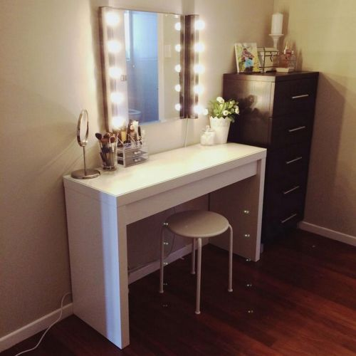 30 Unique Vanity Desk with Mirror Pics