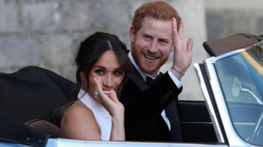 Meghan Markle wears one of Princess Diana's rings to the Royal reception