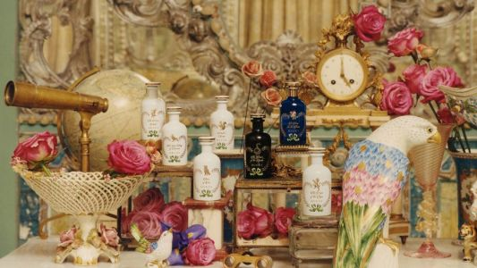 Gucci's first fine fragrance line is a whimsical nod to alchemy