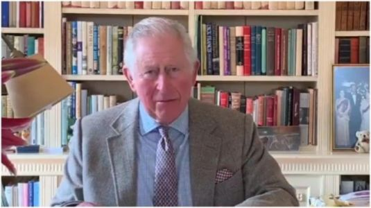 Prince Charles makes first appearance in video message after recovering from coronavirus. Watch