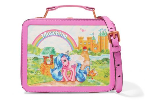 Fill in the Blank: The Moschino + My Little Pony Lunchbox Bag Is