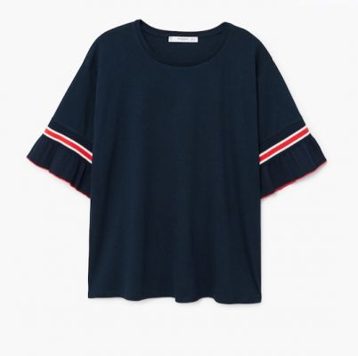 Mad Deals Of The Day: 50% Off A Cute Ruffle Tee At Mango And More