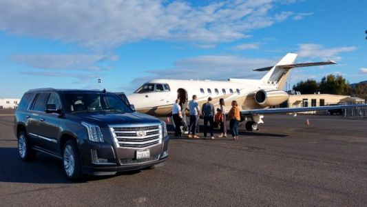 I Took a Private Jet to go Wine Tasting in Napa