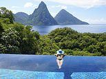 BBC Two's Amazing Hotels show goes behind the scenes at St Lucia's Jade Mountain resort
