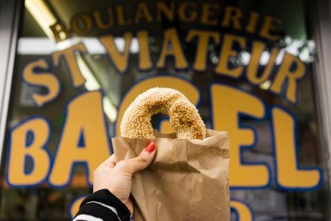 A tale of two bagels