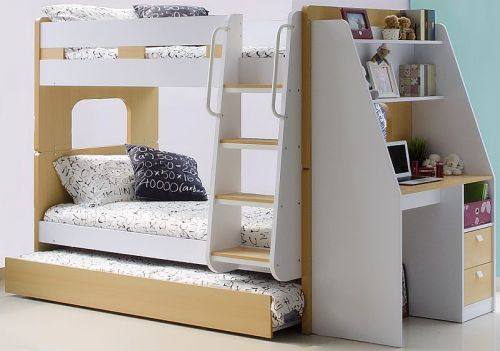 29 Lovely Bunk Bed with Trundle and Desk Graphics