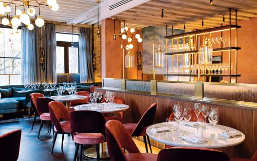 Michael Deacon reviews Caractère, London: 'The roast lamb was as pink as a major's cheeks and explosively juicy'
