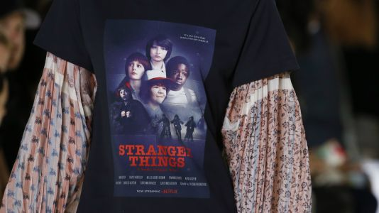 Louis Vuitton's Spring 2018 'Stranger Things' Tee Is Already Getting Knocked Off