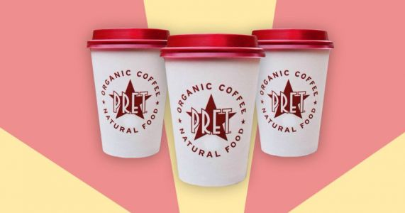 Pret is giving away 300,000 free hot drinks