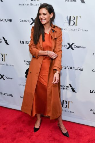 Katie Holmes Is Serving Serious Autumnal Vibes at the American Ballet Theatre Fall Gala