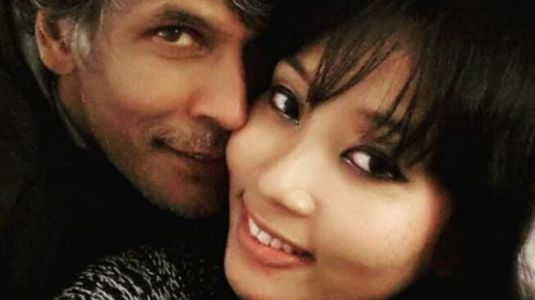 Watch: Milind Soman and Ankita Konwar dance at their mehendi ceremony