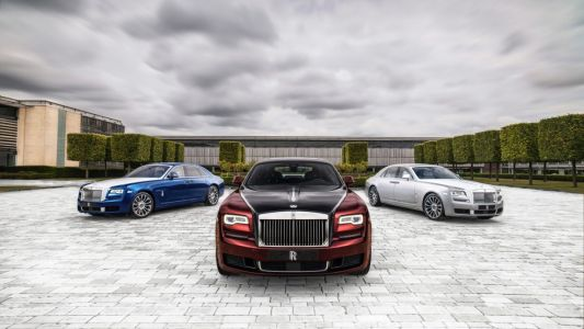Rolls-Royce bids goodbye to an icon with a limited-edition Ghost Zenith collection