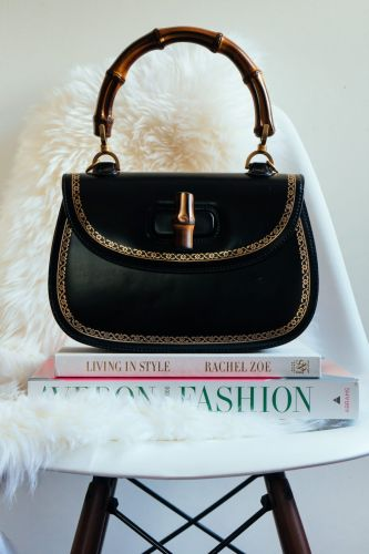 Loving Lately: Gucci's Bamboo Classic Frame Top Handle Bag