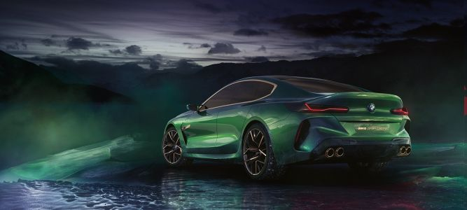 Luxury meets track in the BMW Concept M8 Gran Coupe