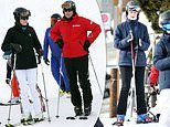 Prince Edward and Sophie Wessex take Lady Louise and James Viscount Severn skiing in glitzy St