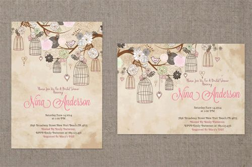 30 Lovely Baby Shower Menu Template Images