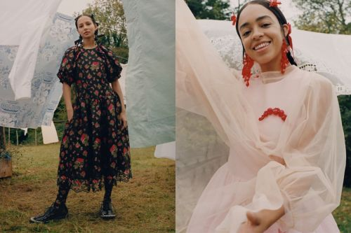 The Simone Rocha for H&M Campaign Brings the Idyllic, English Garden Party of Your Dreams to Life