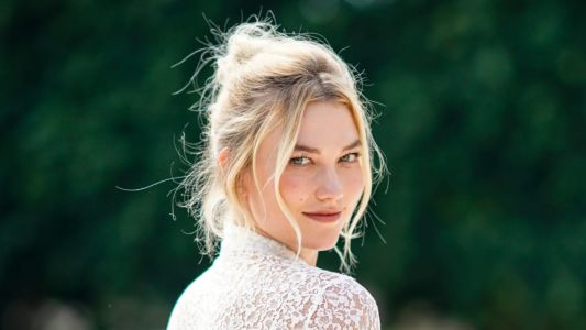 Karlie Kloss Got Married in a Custom Dior Gown