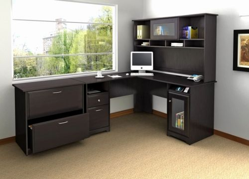 20 Elegant L Shaped Desk with Storage Pics