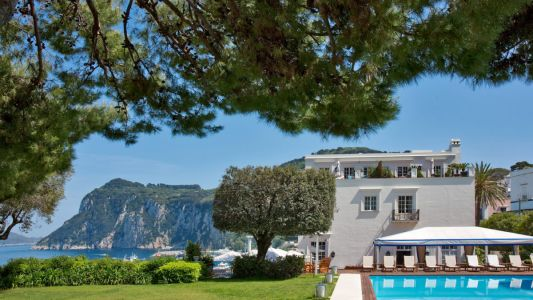 Soak up the Mediterranean sun in style at these luxury hotels in Capri