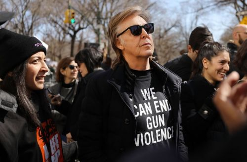 Why Paul McCartney marched: 'One of my best friends was killed in gun violence'