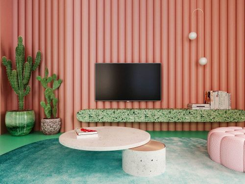 8 gorgeous ways to use 'Living Coral' in your home