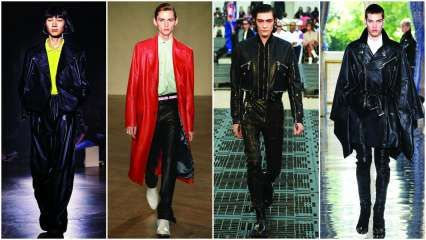 Style Hunter: Leather for summer