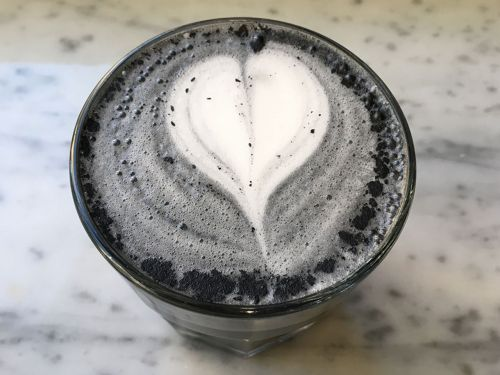We Tried a Goth Latte: The Charcoal Drink Is Sweeping Instagram But Is It Any Good?