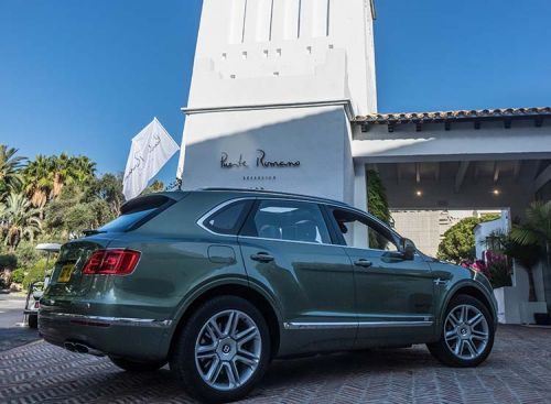 Bentley Bentayga Diesel - Tour Through Andalusia
