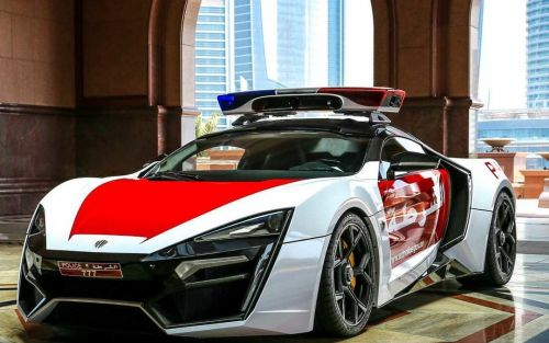 Hot in pursuit: 5 most extravagant police cars from around the globe