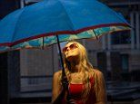 High-tech umbrella gives off glow and scent that makes users feel like they are still on holiday