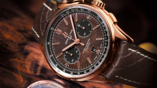 Celebrating Bentley's 100th anniversary: the Breitling Premier Bentley Limited Edition